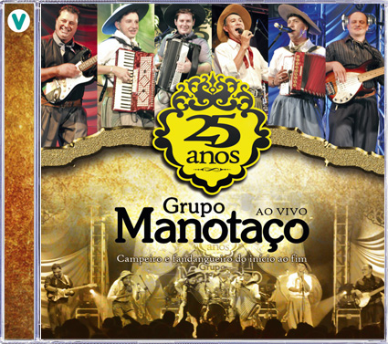 25 Anos - Ao Vivo - CD/DVD