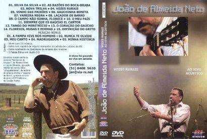 DVD - Vozes Rurais