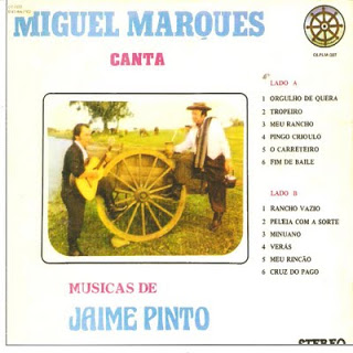 Miguel Marques canta Jaime Pinto